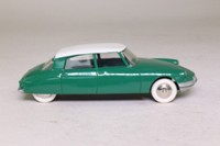 Atlas Dinky Toys 24CP; Citroen DS19: French Dinky; Green, White Roof