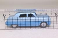 Atlas Dinky Toys 162; Ford Zephyr; Light Blue/Blue, Grey Hubs