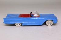 Dinky Toys 555; Ford Thunderbird Convertible; Open Top, Blue