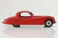 Dinky Toys 157; Jaguar XK120; Red, Spun Hubs