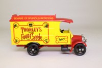 Corgi Classics C859; 1929 Thornycroft Van; Thorleys Cattle Food; Red/ Yellow