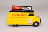 Corgi Classics D981/9; Bedford CA Van; Evening News