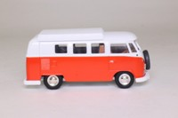 Corgi Classics 06701; Volkswagen Transporter; Dormobile, Orange & White