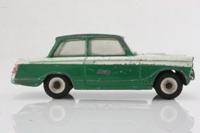 Dinky Toys 01; Triumph Herald Saloon; Green & White