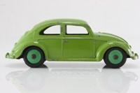 Dinky Toys 181/262; Volkswagen Beetle; Lime Green, Green Hubs