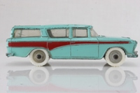 Dinky Toys 173; Nash Rambler; Turquoise With Red Flash, Grey Hubs