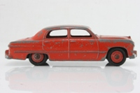 Dinky Toys 139a; Ford Fordor Sedan; Red, Red Hubs
