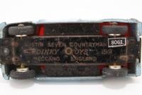 Dinky Toys 199; Austin 7 Countryman; Blue, Red Seats
