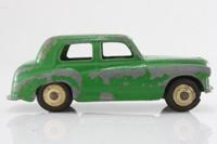 Dinky Toys 154; Hillman Minx; Mid Green, Cream Hubs