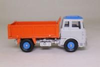 Atlas Dinky Toys 435; Bedford TK Tipper; Grey Cab, Blue Roof, Orange Load Bed