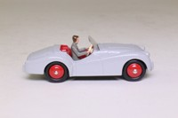 Atlas Dinky Toys 105; Triumph TR2; Grey, Red Seats