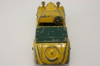 Dinky Toys 38b; Sunbeam Talbot; Yellow, Green Tonneau