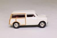 Atlas Dinky Toys 197; Morris Mini Traveller; Cream, Red Seats