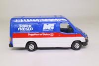 Corgi Classics C656/33; 1992 Ford Transit Van; McDougal Rose, Dulux Paints