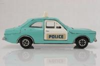 Dinky Toys 270; Ford Escort Saloon Mk1; Police, Speedwheels