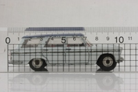 Dinky Toys 172; Fiat 2300 Station Wagon; Grey, Blue Roof