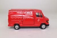 Corgi 58404; Mercedes-Benz Van 207D; Parcel Force; Royal MailCorgi 58404; Mercedes-Benz Van 207D; Parcel Force; Royal Mail
