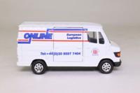 Corgi TY81901; Mercedes-Benz Van 207D; Online Group, European Logistics