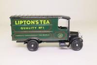 Corgi Classics C914; 1929 Thornycroft Van; Lipton's Tea, Green/Black