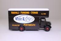 Corgi Classics 97088; Bedford O Series Pantechnicon; White & Co, Portsmouth, Removals
