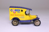 Corgi Classics 874; Ford Model T Van; Corgi Toys, 2nd Anniversary 1986