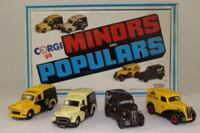 Minors & Populars 4 Van Set