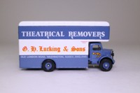 Corgi Classics 97091; Bedford O Series Pantechnicon; GH Lucking & Sons Ltd; Theatrical Removers