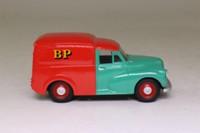 Corgi Classics 06501; Morris Minor Van; Shell/BP, Red & Green,