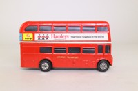 Corgi 1004; AEC Routemaster Bus; Beep Beep Bus, London Transport; 6 Oxford Circus, Hamleys
