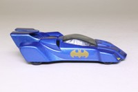 Corgi Classics 77303; Batmobile, 1990s DC Comics; Metallic Blue