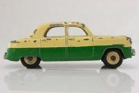 Dinky Toys 162; Ford Zephyr; Cream Over Dark Green, Cream Hubs