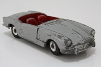 Dinky Toys 114; Triumph Spitfire; Silver Grey, Red Seats, Black Base