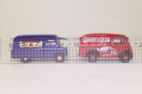 Corgi Classics 08007; Cadbury's 2 Van Set; Bedford CA & Morris J