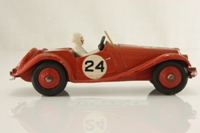 Dinky Toys 108; MG Midget Competition Finish; Red, Red Hubs