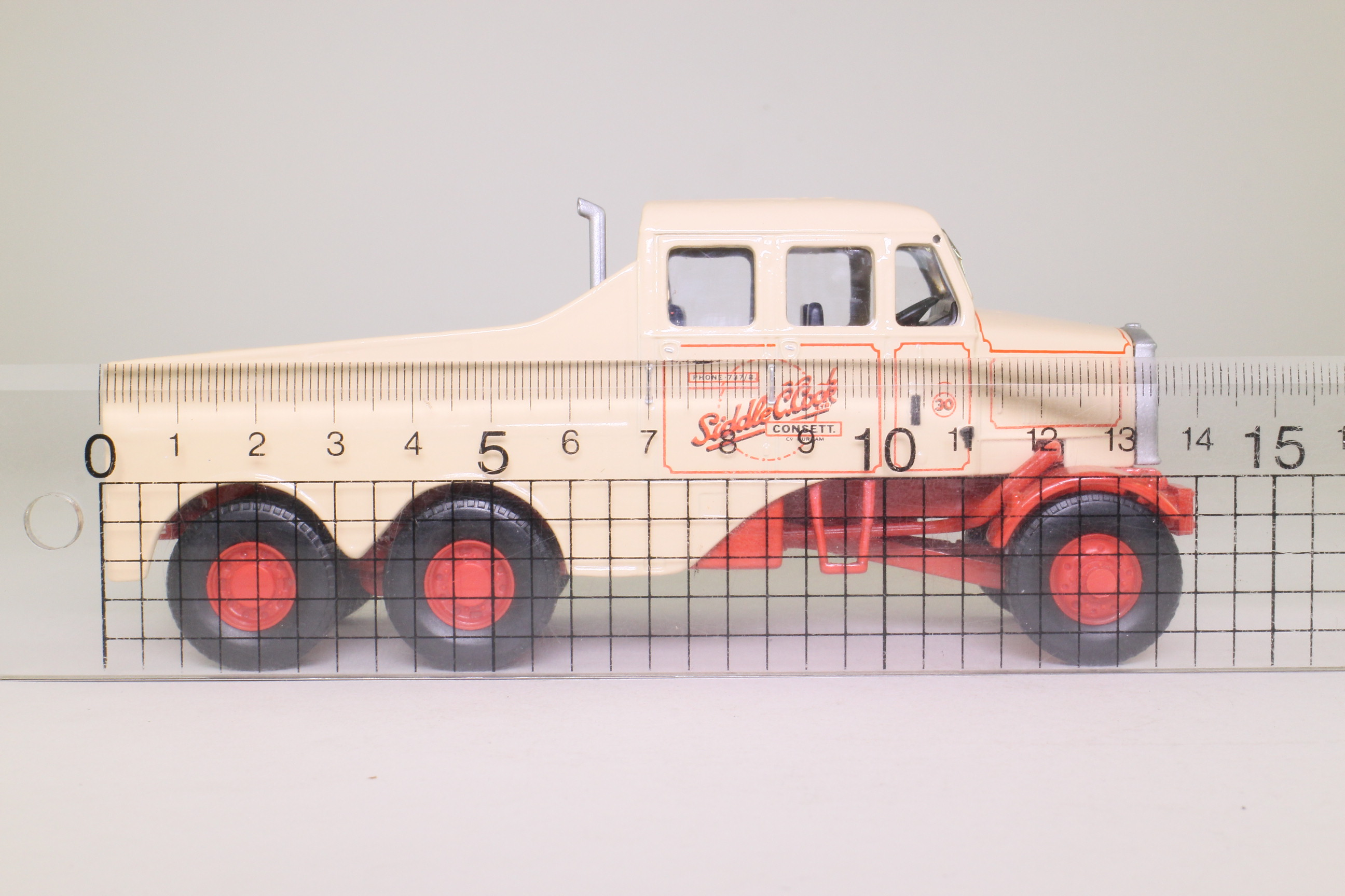 Corgi Cc11101 Scammell Constructor Ballast Tractor