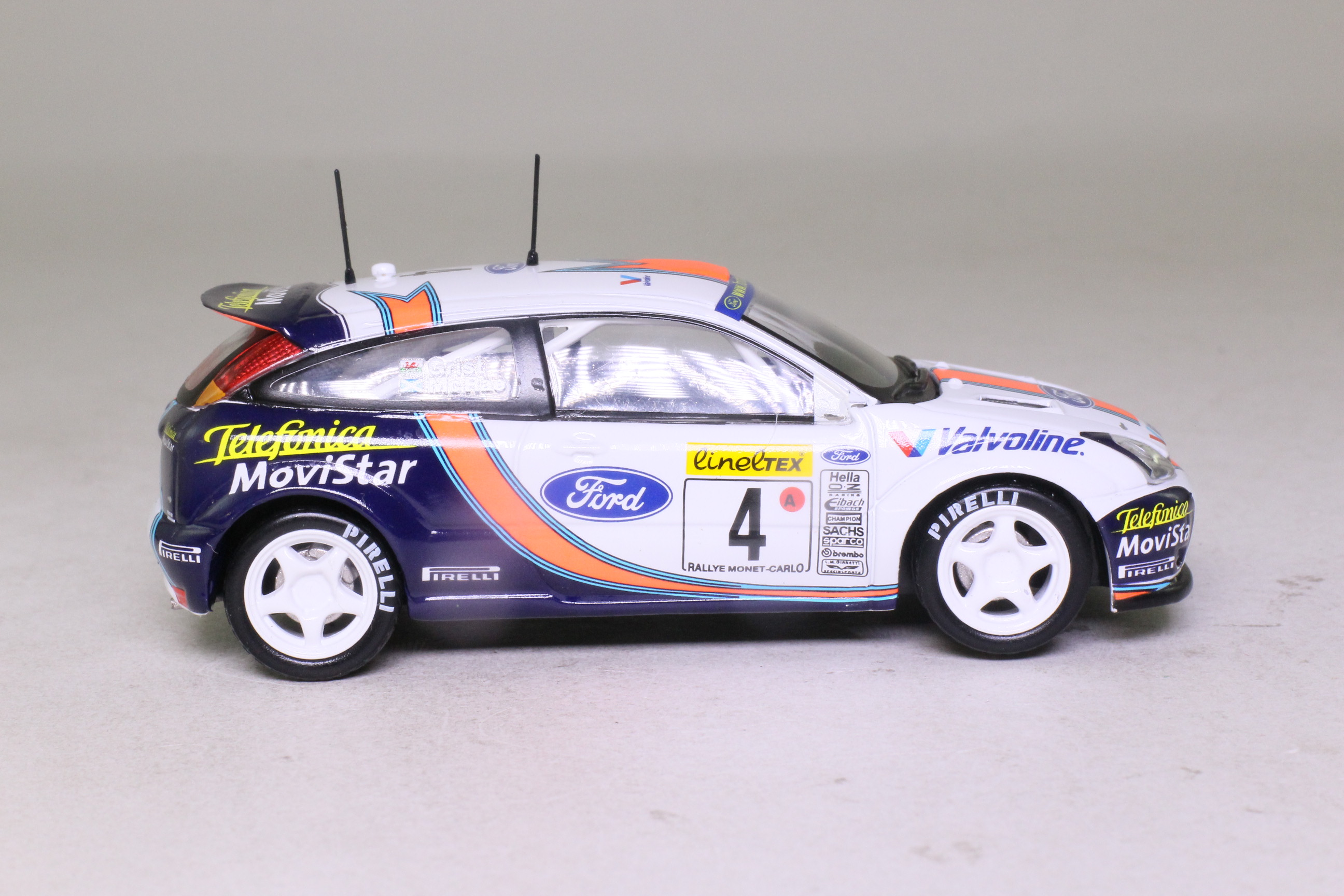 Vanguards Ford Focus Wrc 2001 Monte Carlo Rally Colin Mcrae Excellent Boxed