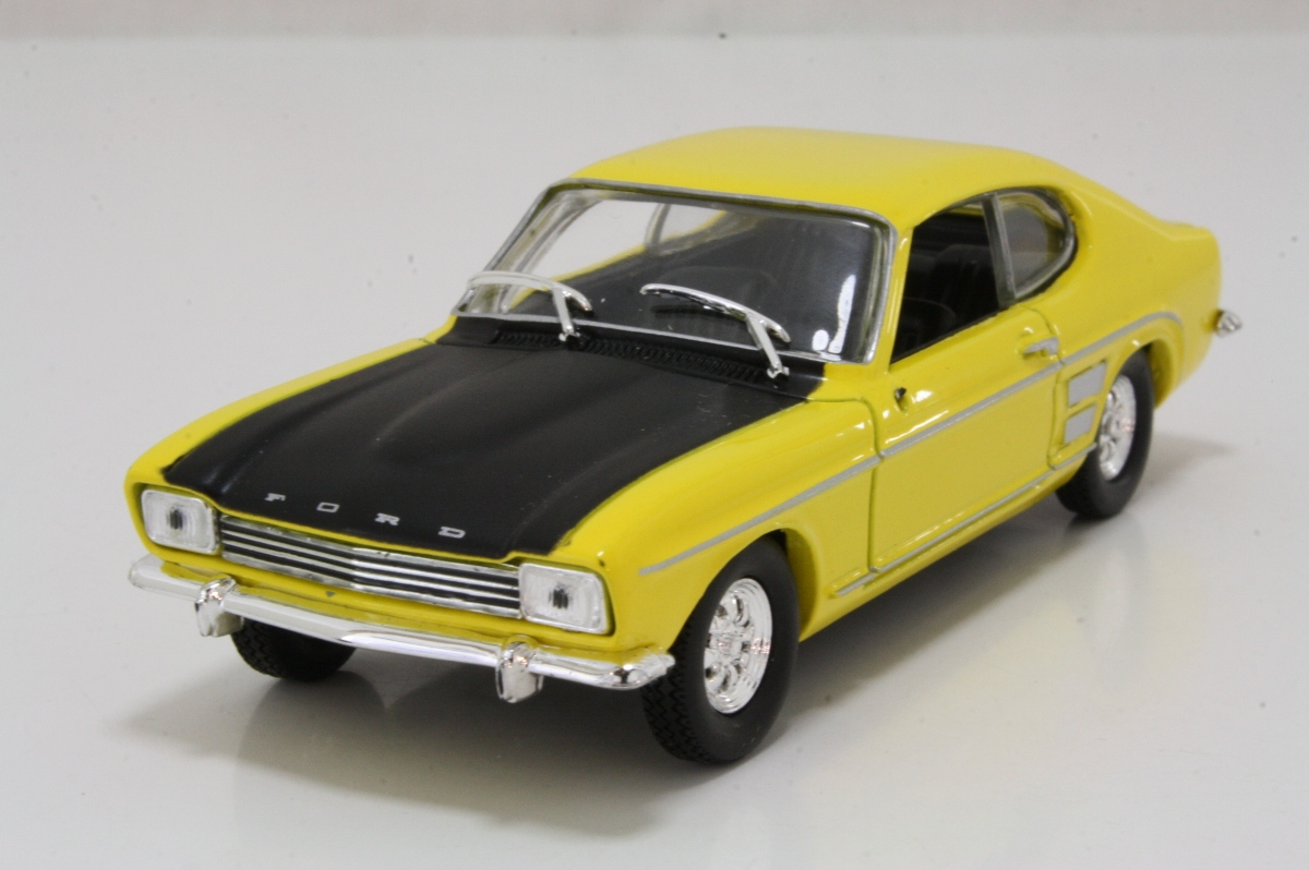solido 1969 ford capri 3000 gt yellow black excellent boxed century of cars ebay. Black Bedroom Furniture Sets. Home Design Ideas