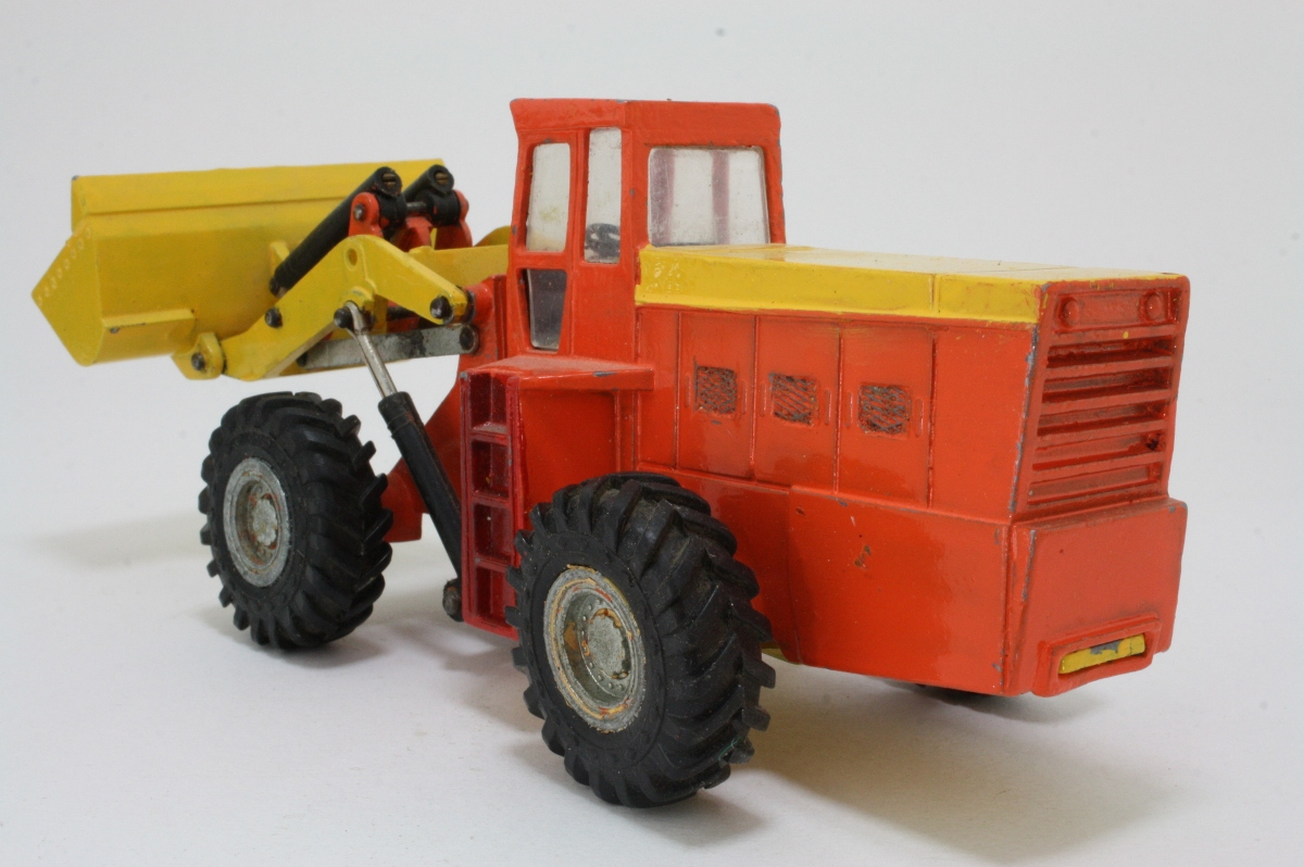 Articulated Tractor Toys And Joys : Dinky toys eaton yale articulated wheel loader