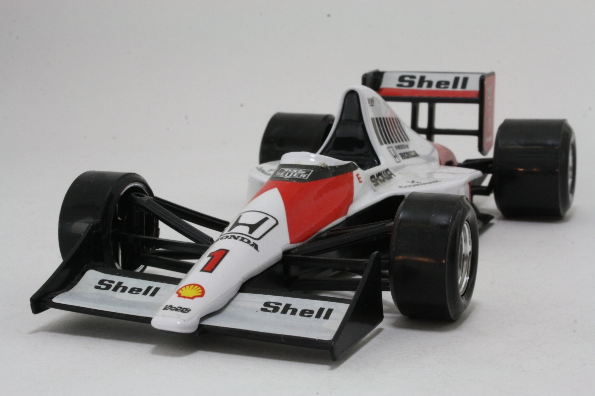 burago 6103 1989 mclaren mp4 5 grand prix f1 shell honda excellent boxed ebay. Black Bedroom Furniture Sets. Home Design Ideas