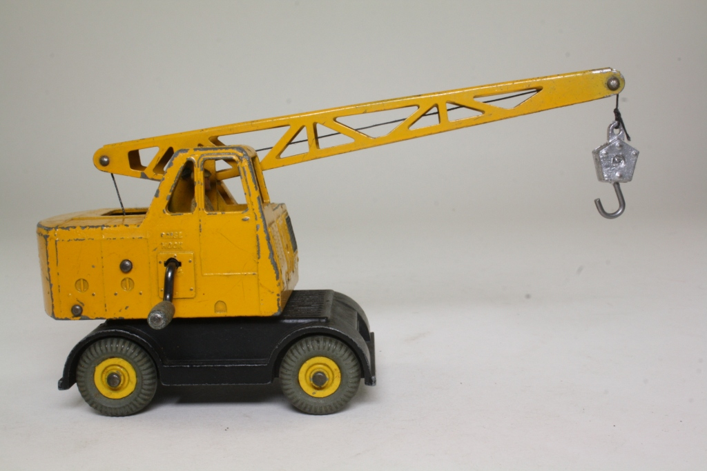Mobile Crane Driver : Dinky toys coles mobile crane yellow black driver