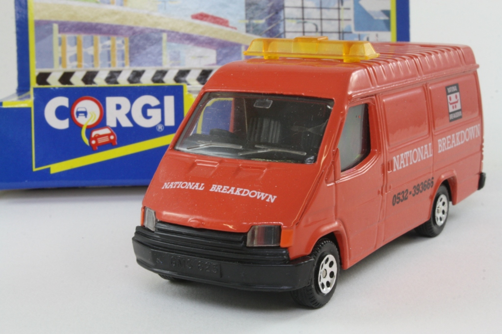 Corgi classics 91642 1992 ford transit van national for Classic house 1992