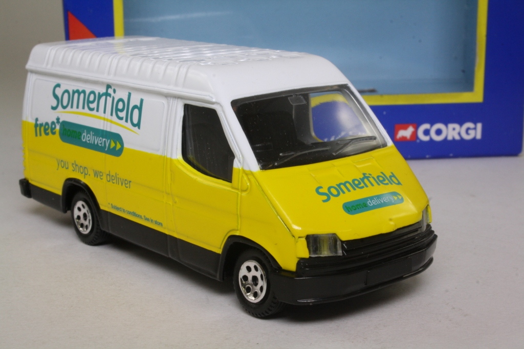 Corgi classics ty82005 1992 ford transit van somerfield for Classic house 1992