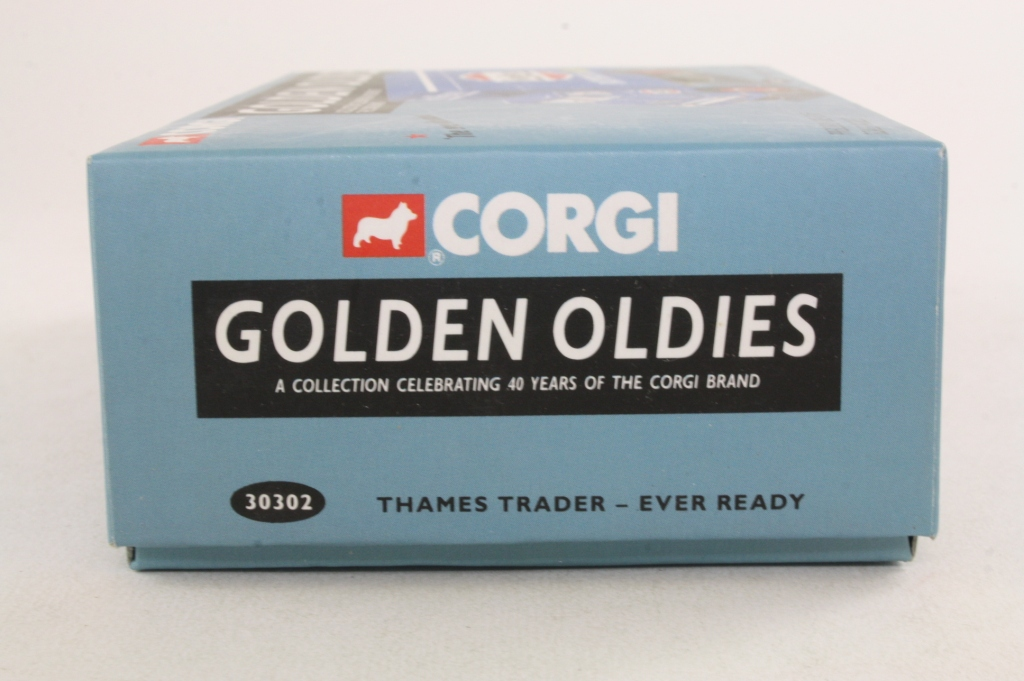 Corgi Classics 30302; Ford Thames Trader; Box Van; Ever Ready ...