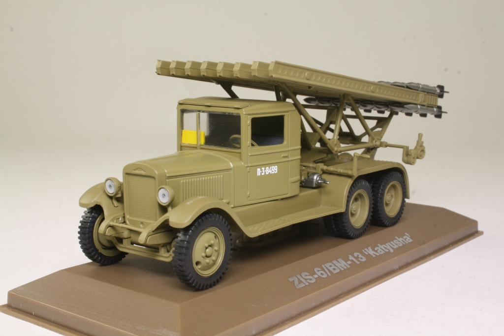 Atlas Editions Military Vehicles: ZIS-6 6x4 Army Truck & BM
