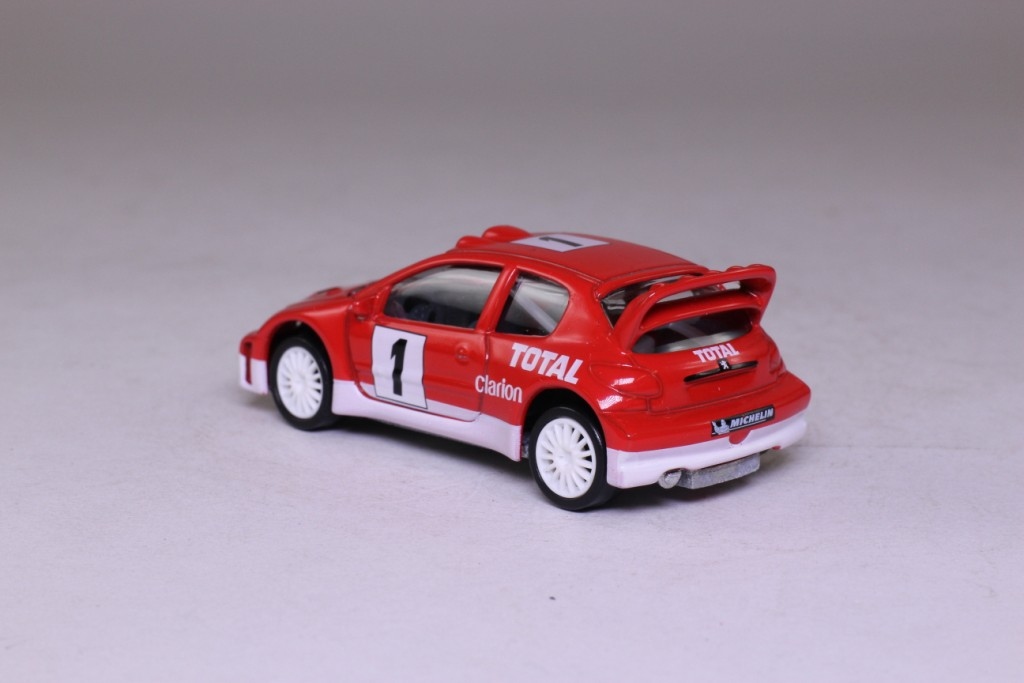 norev 2003 peugeot 206 wrc rally car rn1 1 64 scale excellent boxed ebay. Black Bedroom Furniture Sets. Home Design Ideas