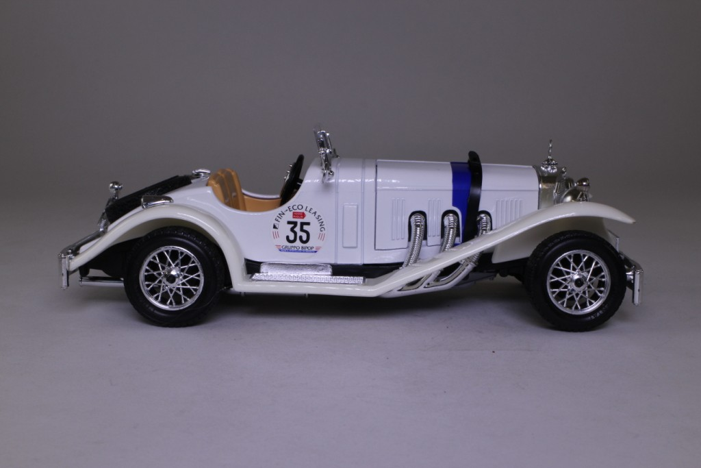 Burago 12109 1928 mercedes benz ssk roadster racing for Mercedes benz ssk 1928 burago