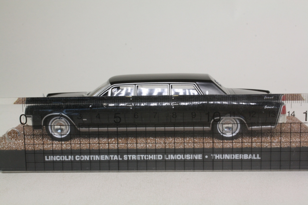 james bond lincoln continental stretch limo thunderball excellent sealed boxed ebay. Black Bedroom Furniture Sets. Home Design Ideas