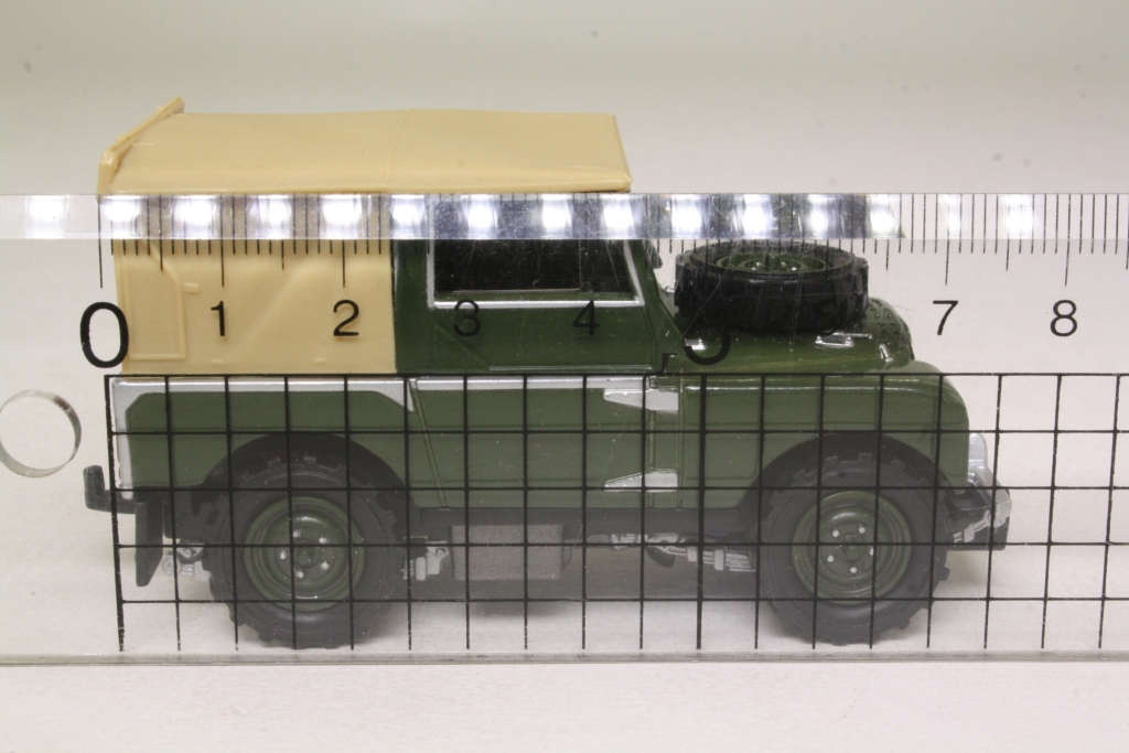 2018 Land Rover Models >> Matchbox Collectibles YYM35054; 1948 Land-Rover Series 1; Bronze Green, Tan Tilt 42553