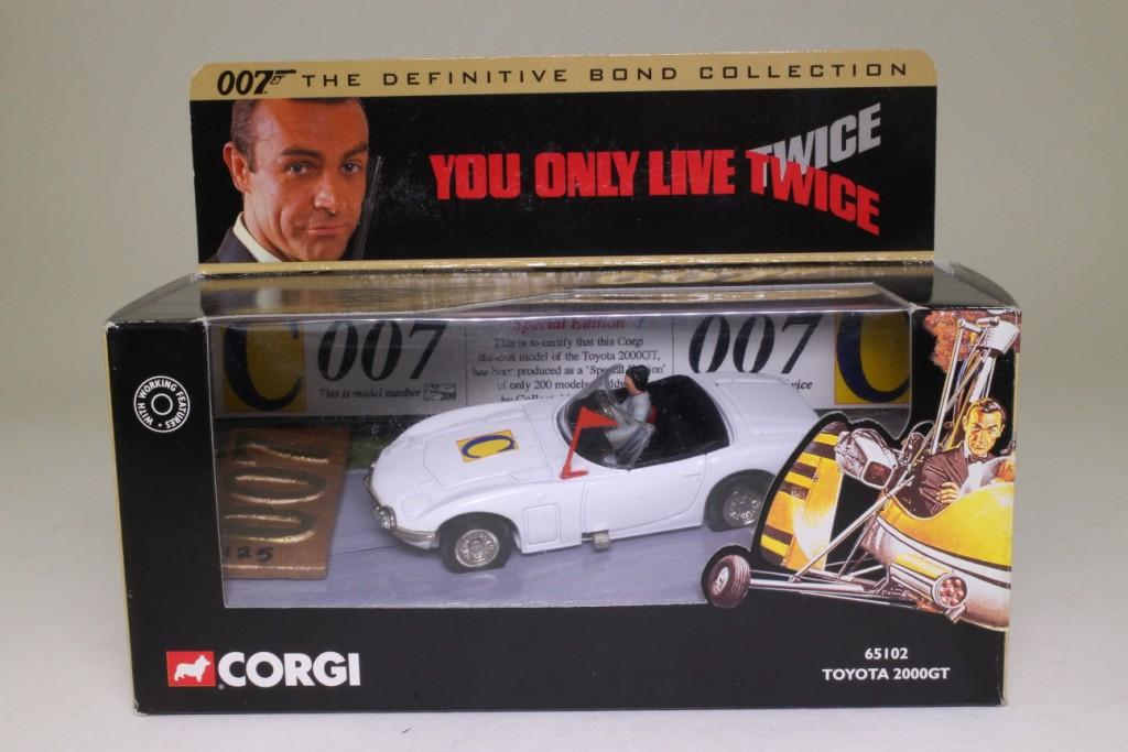 Corgi classics 65102 james bond 39 s toyota 2000 gt you for House classics 2000