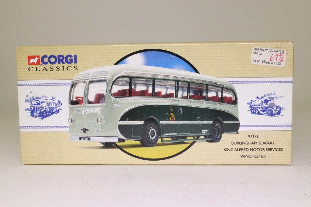 Corgi 97176 Burlingham Seagull Coach King Alfred